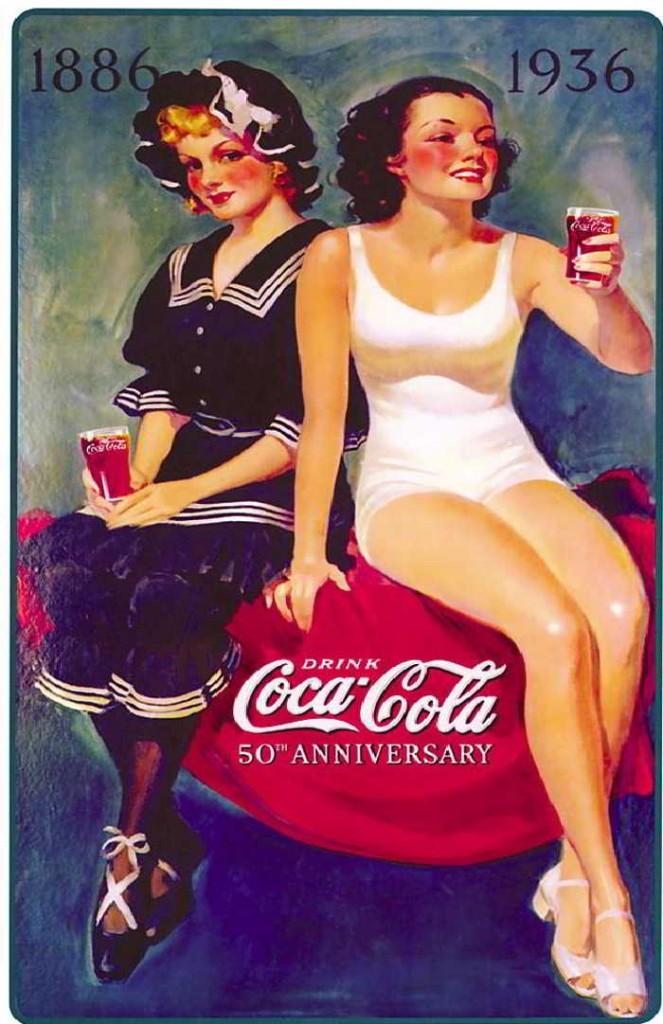 Evolución de los anuncios de uno de los productos más reconocidos del mundo. Podemos ver cómo cambio la estética de los anuncios a lo largo de los años.  Lo que me llama la atención es el logotipo, que casi no sufrió cambios es más de 100 años.